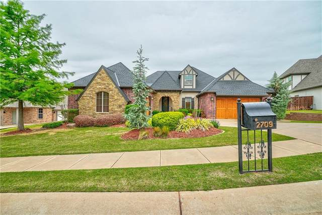 2709 Stetson Drive, Edmond, OK 73034 (MLS #956141) :: Homestead & Co