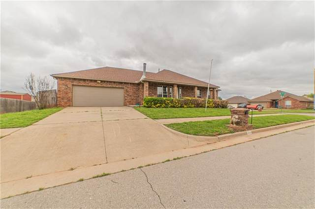12529 SW 14th Street, Yukon, OK 73099 (MLS #956155) :: Homestead & Co