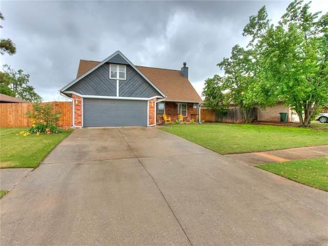 1100 Hunters Glen Circle, Edmond, OK 73012 (MLS #956584) :: Maven Real Estate