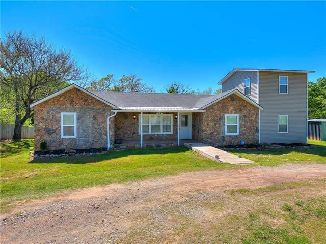 22076 S Rangeline Road, Tecumseh, OK 74873 (MLS #956631) :: Homestead & Co
