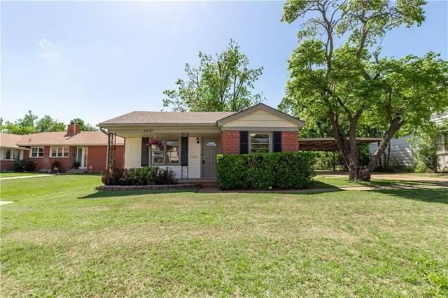 4401 N Miller Avenue, Oklahoma City, OK 73112 (MLS #956805) :: Erhardt Group at Keller Williams Mulinix OKC