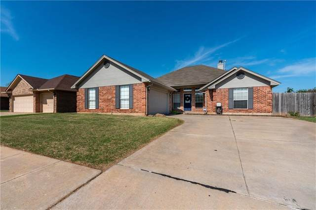 100 Sunrise Drive, Yukon, OK 73099 (MLS #956885) :: Maven Real Estate