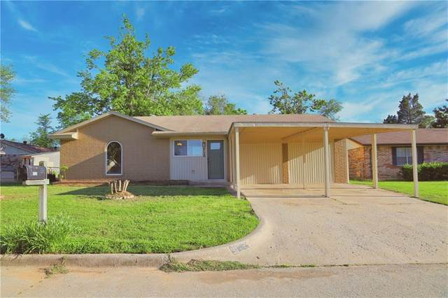 9720 NE 3rd Place, Midwest City, OK 73130 (MLS #956903) :: The UB Home Team at Whittington Realty