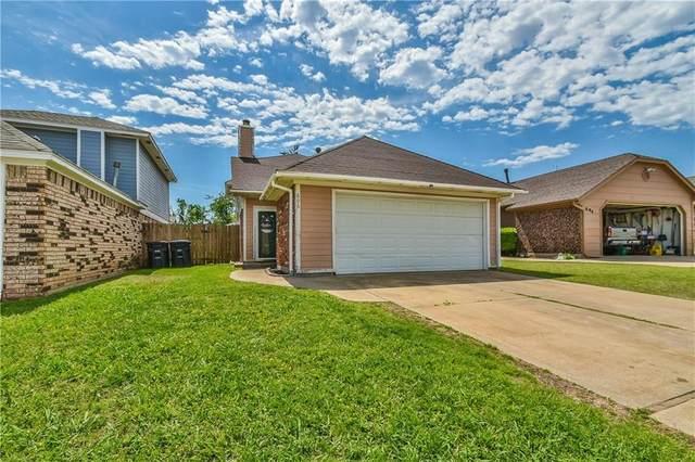 606 Stoneridge Drive, Moore, OK 73160 (MLS #956909) :: KG Realty
