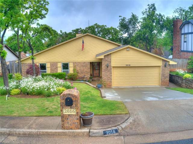 2016 Woodland Road, Edmond, OK 73013 (MLS #957189) :: KG Realty