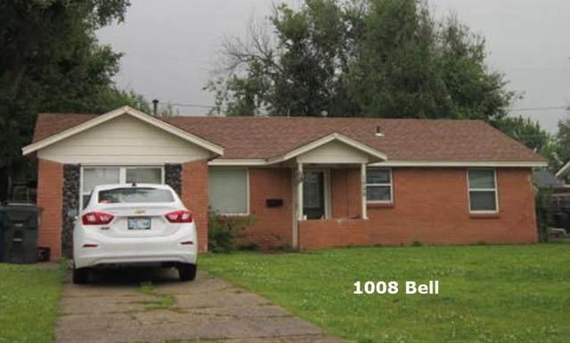 1008 Bell Drive, Midwest City, OK 73110 (MLS #957211) :: Erhardt Group at Keller Williams Mulinix OKC
