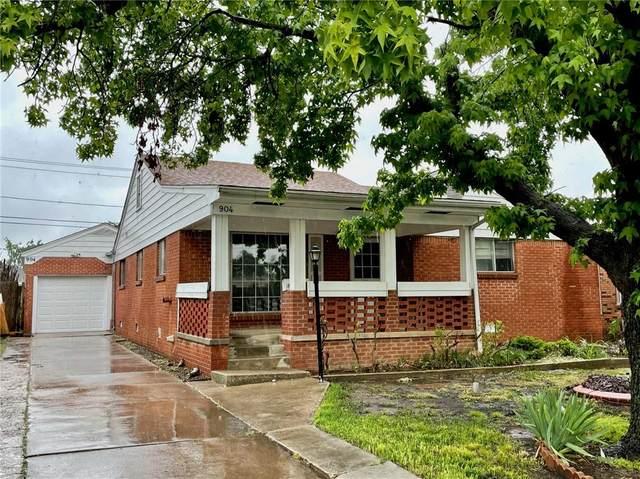 904 N Lilac Lane, Oklahoma City, OK 73110 (MLS #957225) :: KG Realty