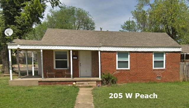 205 W Peach Street, Midwest City, OK 73110 (MLS #957238) :: Maven Real Estate