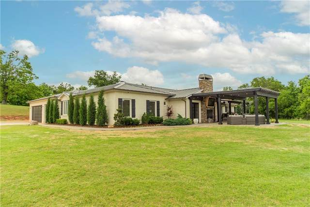 5301 Permian Drive, Newalla, OK 74857 (MLS #957324) :: The UB Home Team at Whittington Realty
