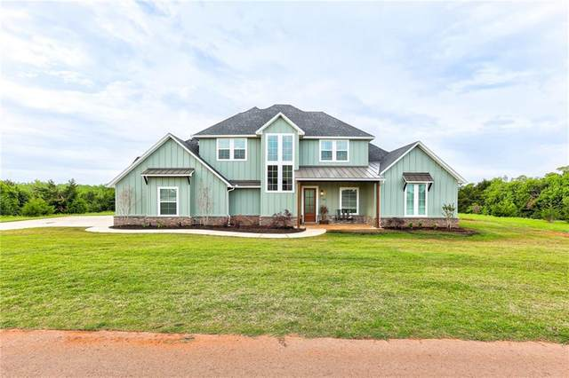 390 Old Farm Road, Edmond, OK 73034 (MLS #957328) :: Homestead & Co