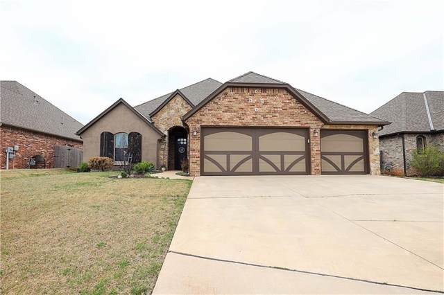 608 Humber Bridge Court, Edmond, OK 73034 (MLS #957417) :: KG Realty