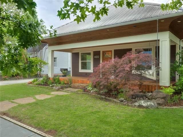 420 W Eufaula Street, Norman, OK 73069 (MLS #957495) :: The UB Home Team at Whittington Realty