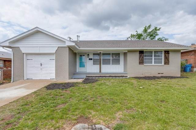 309 W Pratt Drive, Midwest City, OK 73110 (MLS #957564) :: KG Realty