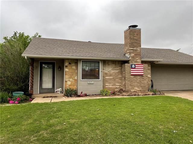 1717 Rock Hollow Street, Moore, OK 73160 (MLS #957758) :: Erhardt Group at Keller Williams Mulinix OKC