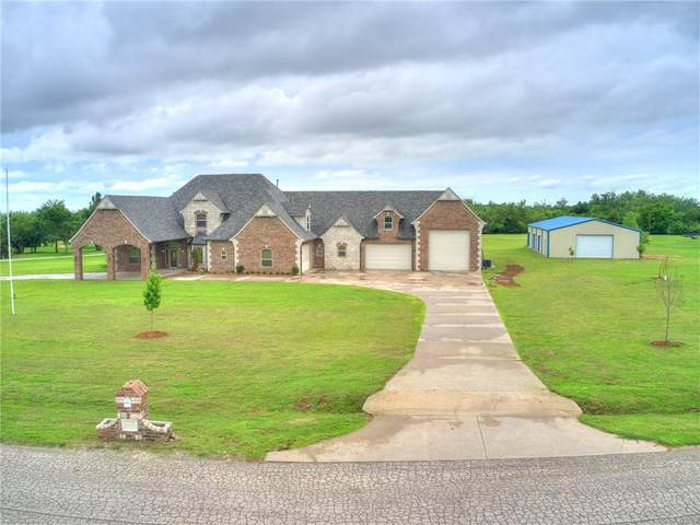 5601 Hidden Meadow Drive, Mustang, OK 73064 (MLS #959044) :: The UB Home Team at Whittington Realty