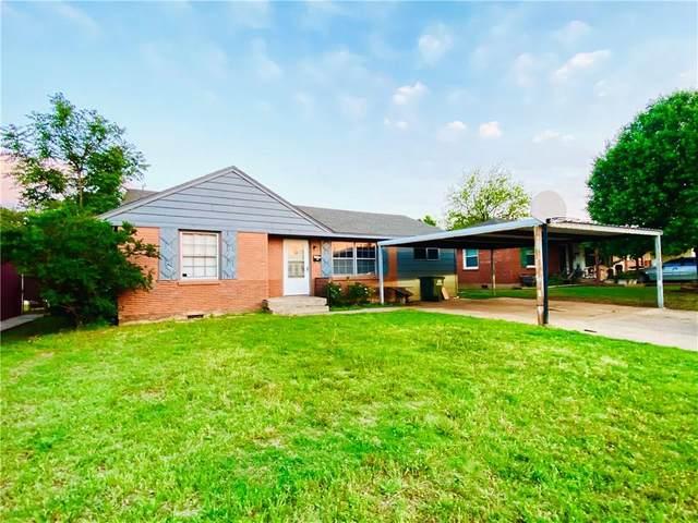 1228 Santa Fe Drive, Clinton, OK 73601 (MLS #959885) :: Maven Real Estate
