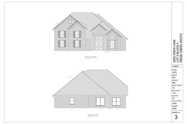 8209 Crew Lane, Edmond, OK 73034 (MLS #960593) :: Sold by Shanna- 525 Realty Group