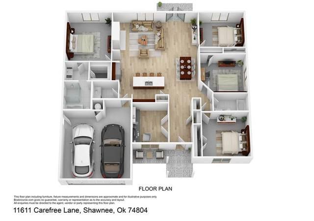 11611 Carefree Lane, Shawnee, OK 74804 (MLS #960890) :: Homestead & Co