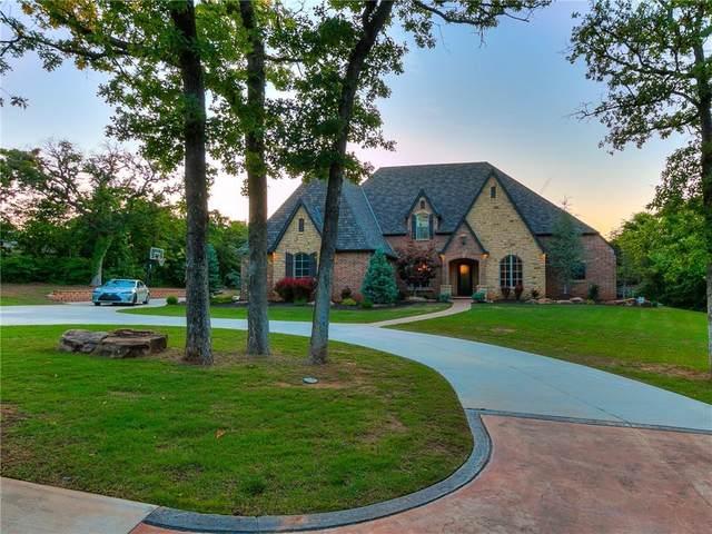 1715 Hidden Lake Drive, Edmond, OK 73034 (MLS #961062) :: KG Realty