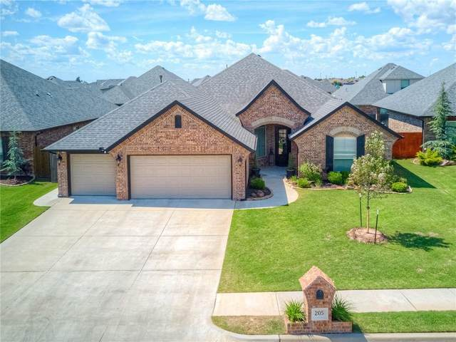 205 SW 168th Terrace, Oklahoma City, OK 73170 (MLS #961080) :: KG Realty