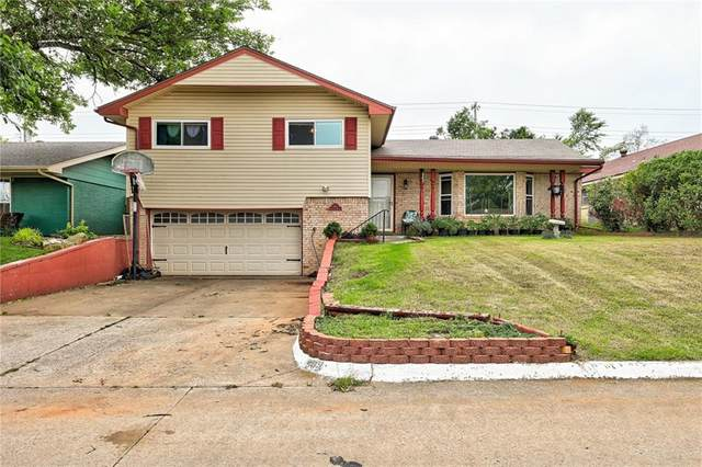 908 W Silver Meadow Drive, Midwest City, OK 73110 (MLS #961193) :: The UB Home Team at Whittington Realty