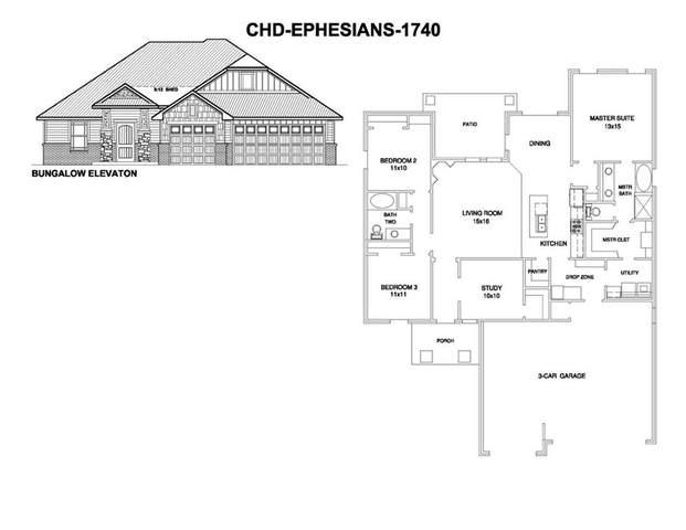211 Mountain Laurel Way, Noble, OK 73068 (MLS #961348) :: Erhardt Group at Keller Williams Mulinix OKC