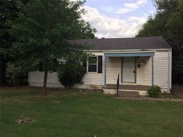 503 N Marshall Drive, Midwest City, OK 73110 (MLS #961392) :: The UB Home Team at Whittington Realty