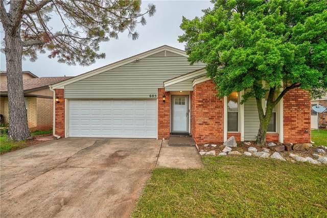 605 SE 34th Street, Moore, OK 73160 (MLS #961453) :: Maven Real Estate