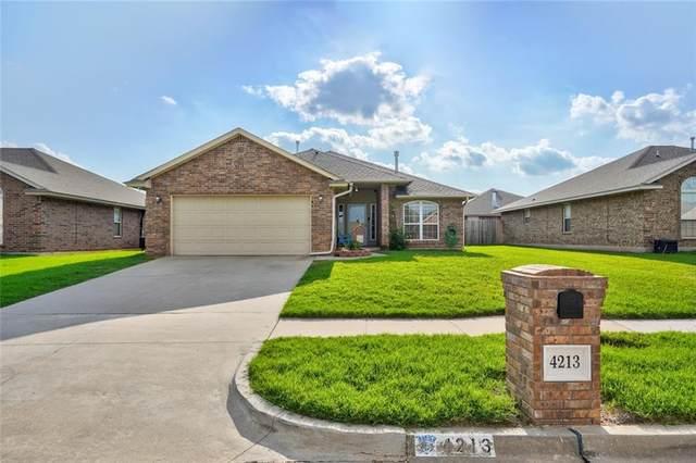 4213 Kensington Drive, Moore, OK 73160 (MLS #961544) :: Maven Real Estate