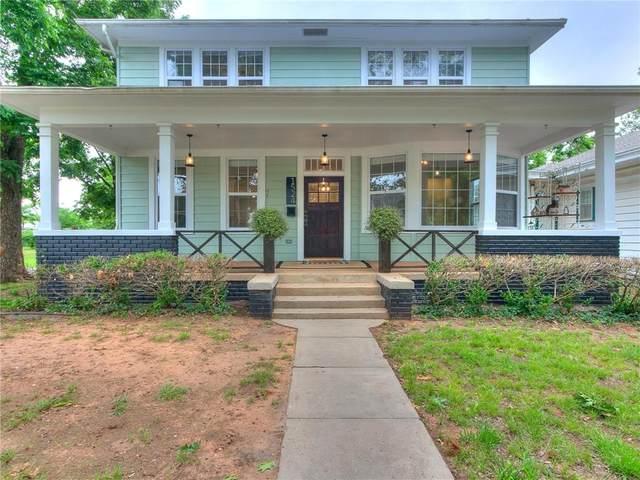 1524 W Cleveland Avenue, Guthrie, OK 73044 (MLS #961604) :: Homestead & Co