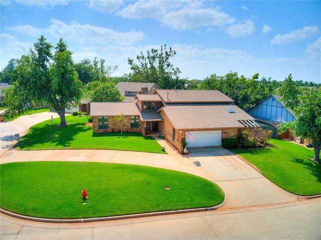 6917 N Lake Front Drive, Warr Acres, OK 73132 (MLS #961678) :: The UB Home Team at Whittington Realty