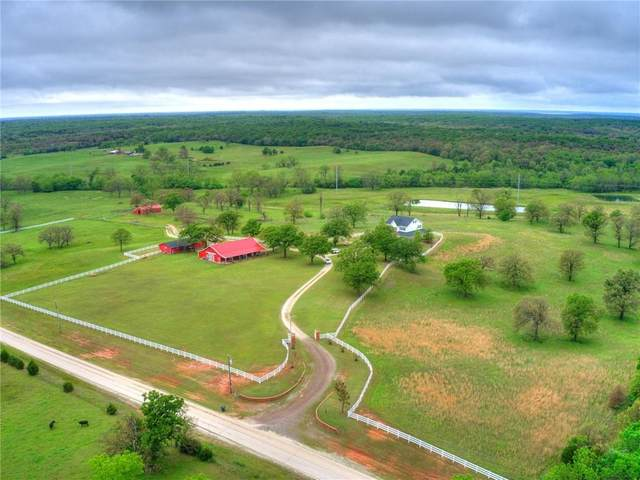 17401 E Maguire Road, Noble, OK 73168 (MLS #961867) :: The UB Home Team at Whittington Realty