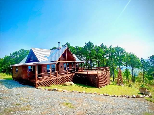 1 Lake View Mountain, Tuskahoma, OK 74574 (MLS #962069) :: The UB Home Team at Whittington Realty