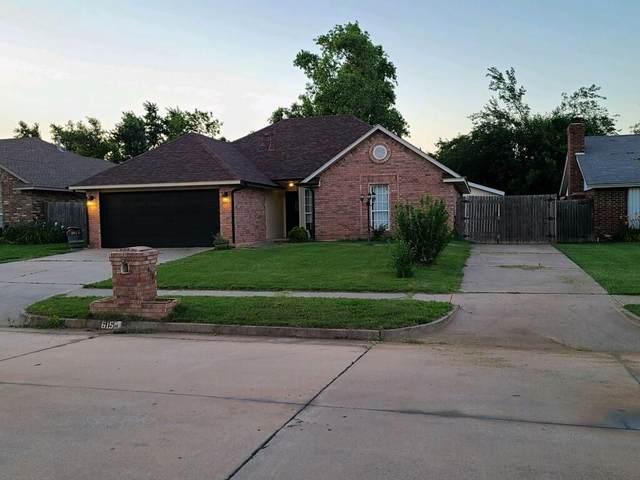 615 W Dowden Street, Mustang, OK 73064 (MLS #962100) :: Homestead & Co