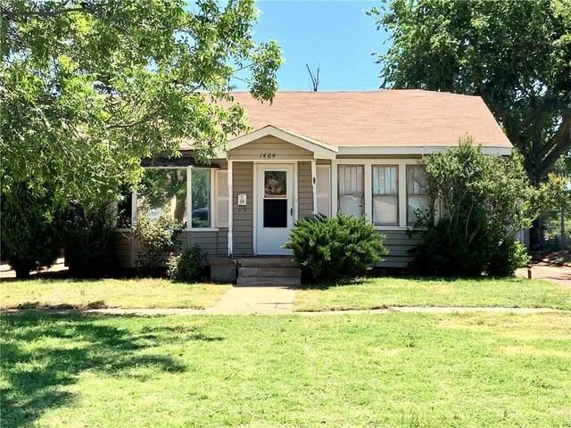 1404 N Willard Street, Altus, OK 73521 (MLS #962213) :: Homestead & Co