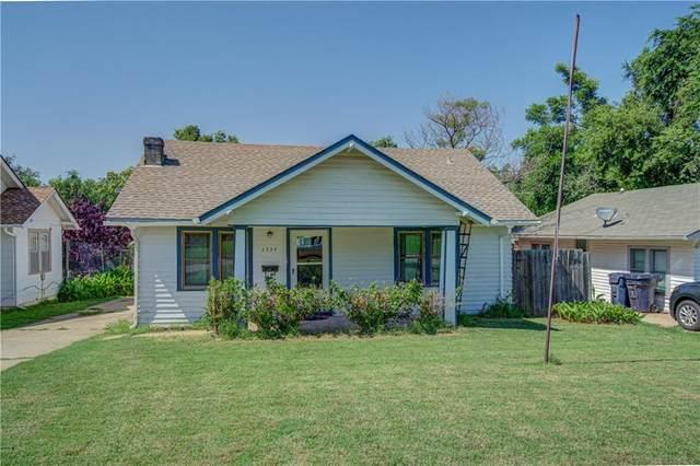 1539 NW 40th Street, Oklahoma City, OK 73142 (MLS #962389) :: The UB Home Team at Whittington Realty