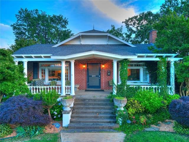 201 N Forest Avenue, Eufaula, OK 74432 (MLS #962494) :: ClearPoint Realty