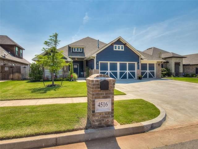 4516 Mccann Avenue, Mustang, OK 73064 (MLS #962773) :: Erhardt Group at Keller Williams Mulinix OKC