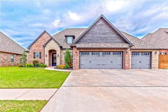 5905 Windstone Drive, Norman, OK 73072 (MLS #962776) :: Homestead & Co