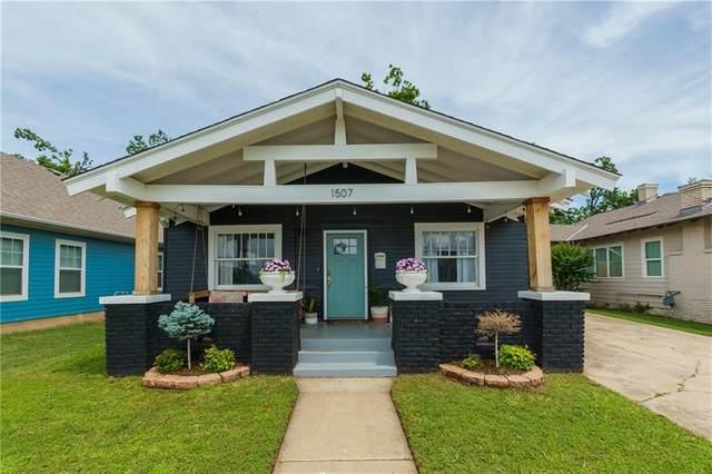 1507 NW 14th Street, Oklahoma City, OK 73106 (MLS #962916) :: Erhardt Group at Keller Williams Mulinix OKC