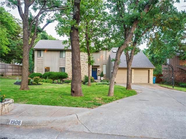 1908 Marked Tree Circle, Edmond, OK 73013 (MLS #962967) :: Homestead & Co