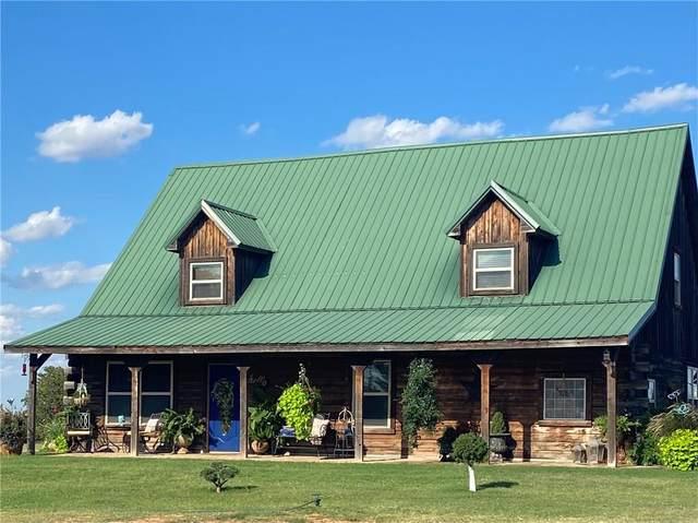 10358 N 1810 Road, Cheyenne, OK 73628 (MLS #963164) :: Homestead & Co