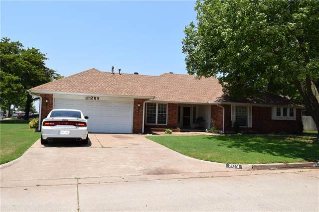 209 Three Oaks Drive, Midwest City, OK 73130 (MLS #963874) :: ClearPoint Realty