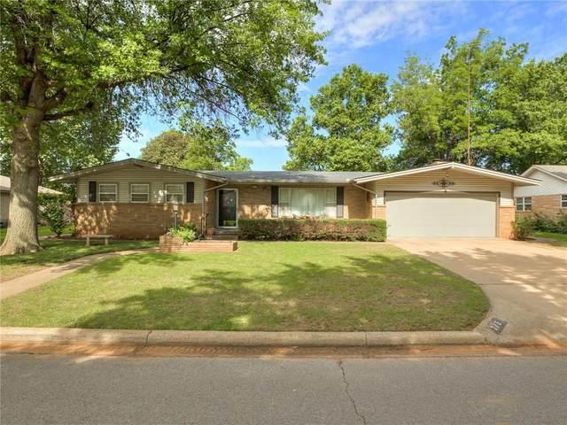 713 Oak Drive, Weatherford, OK 73096 (MLS #965234) :: Erhardt Group