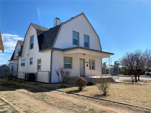802 N Hudson Street, Altus, OK 73521 (MLS #965433) :: The UB Home Team at Whittington Realty