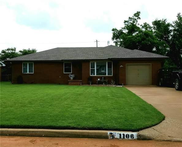 1106 S 12th Street, Kingfisher, OK 73750 (MLS #965640) :: Maven Real Estate