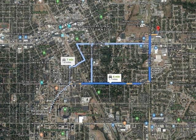 211 Stanton Drive, Norman, OK 73071 (MLS #966320) :: Keller Williams Realty Elite