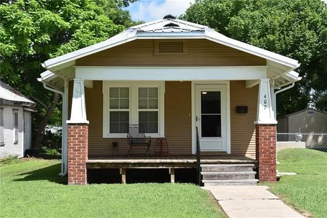 407 S Broadway Street, Holdenville, OK 74848 (MLS #966948) :: Keller Williams Realty Elite