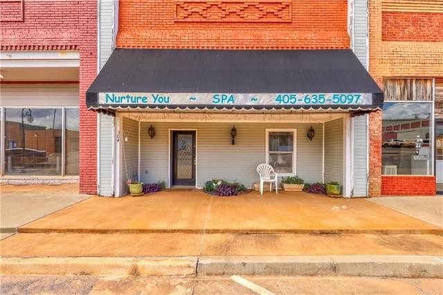 304 W 2nd Street, Wellston, OK 74881 (MLS #967316) :: ClearPoint Realty