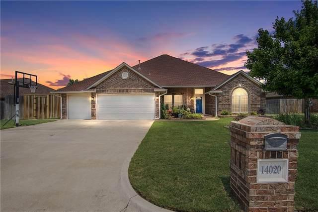 14020 Choctaw Drive, Edmond, OK 73013 (MLS #967417) :: The UB Home Team at Whittington Realty
